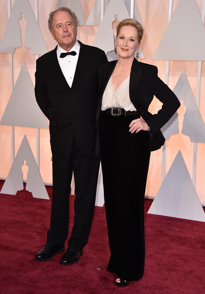 Don Gummer y Meryl Streep de Lanvin.