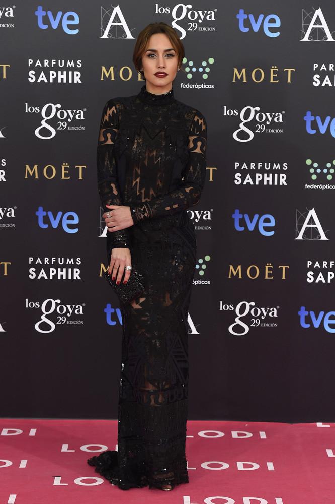 Megan Montaner de Emilio Pucci.