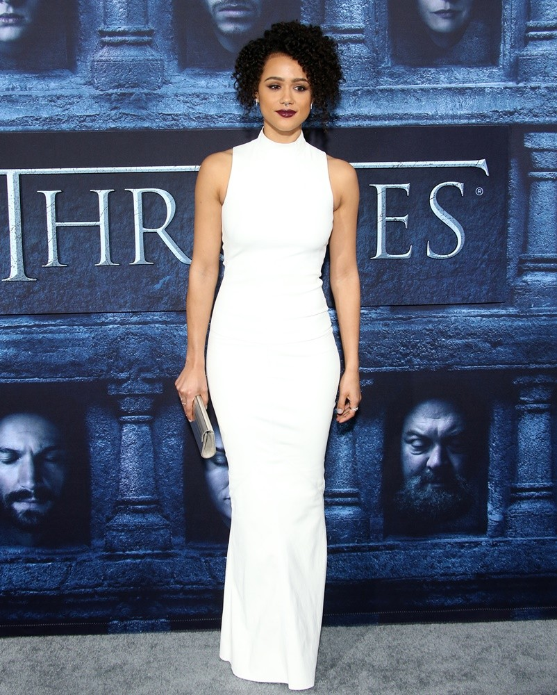 """Los Angeles Premiere for season 6 of HBO's """"GAME OF THRONES"""" Featuring: Nathalie Emmanuel Where: Hollywood, California, United States When: 10 Apr 2016 Credit: FayesVision/WENN.com"""